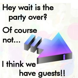 The guests are coming!!!!!!!