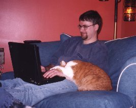 Boomer as a lap top