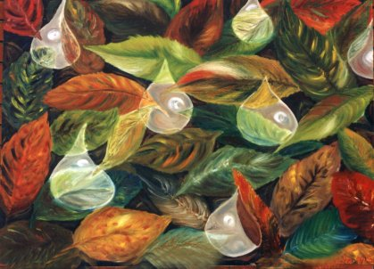 Leaves - painting