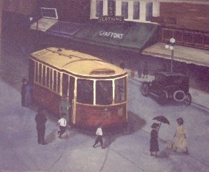 Dundas Street Car in 1925