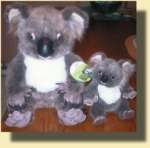 Stuffed Koalas