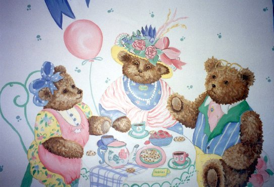 Teddy bear tea
