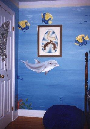 Pics photos dolphin theme bathroom decor pictures